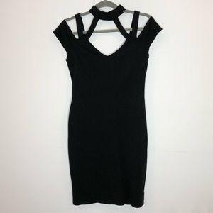 STRAPPY LITTLE BLAVK DRESS